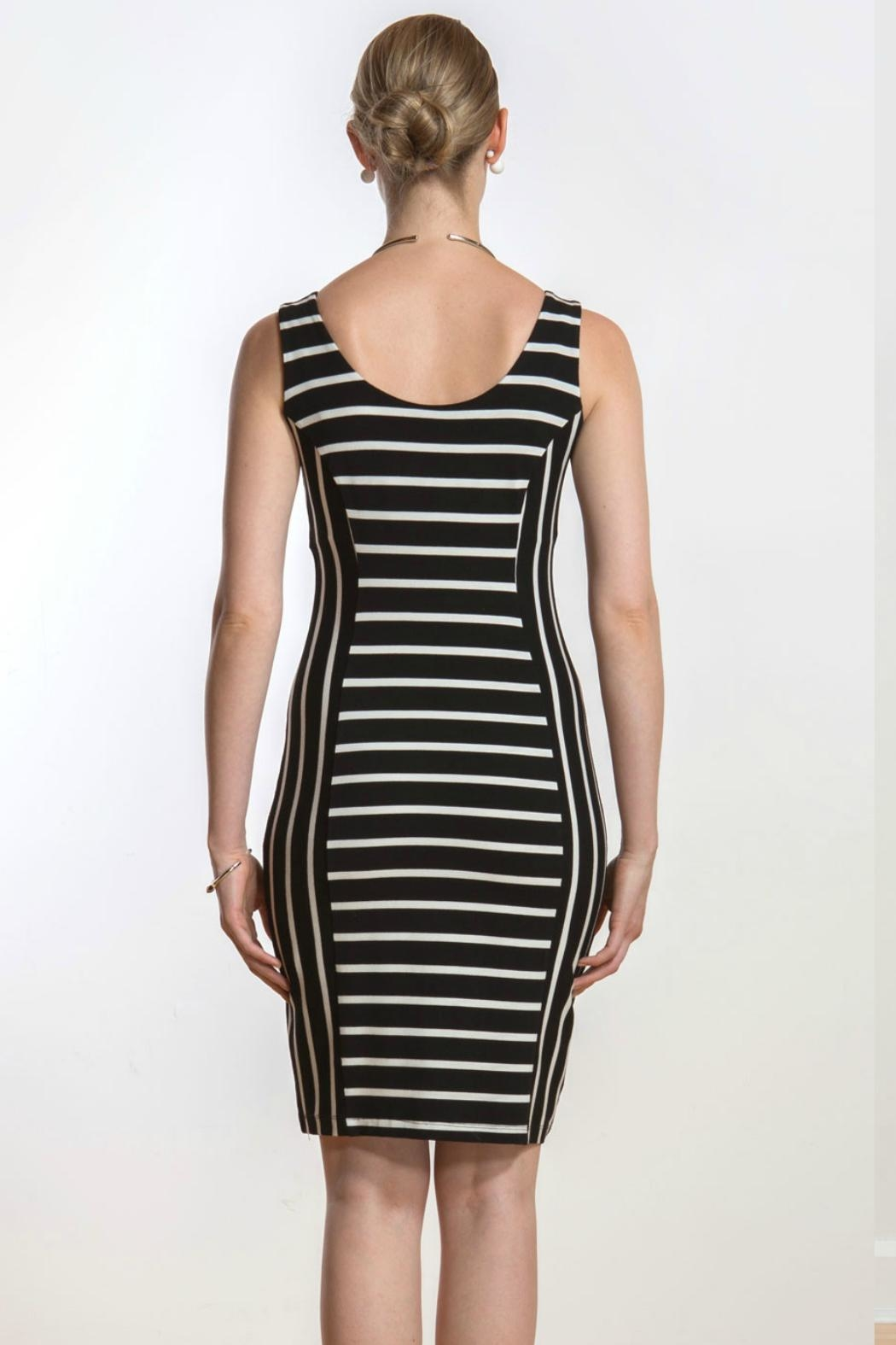 Miik Reversible Stripe Dress - Side Cropped Image