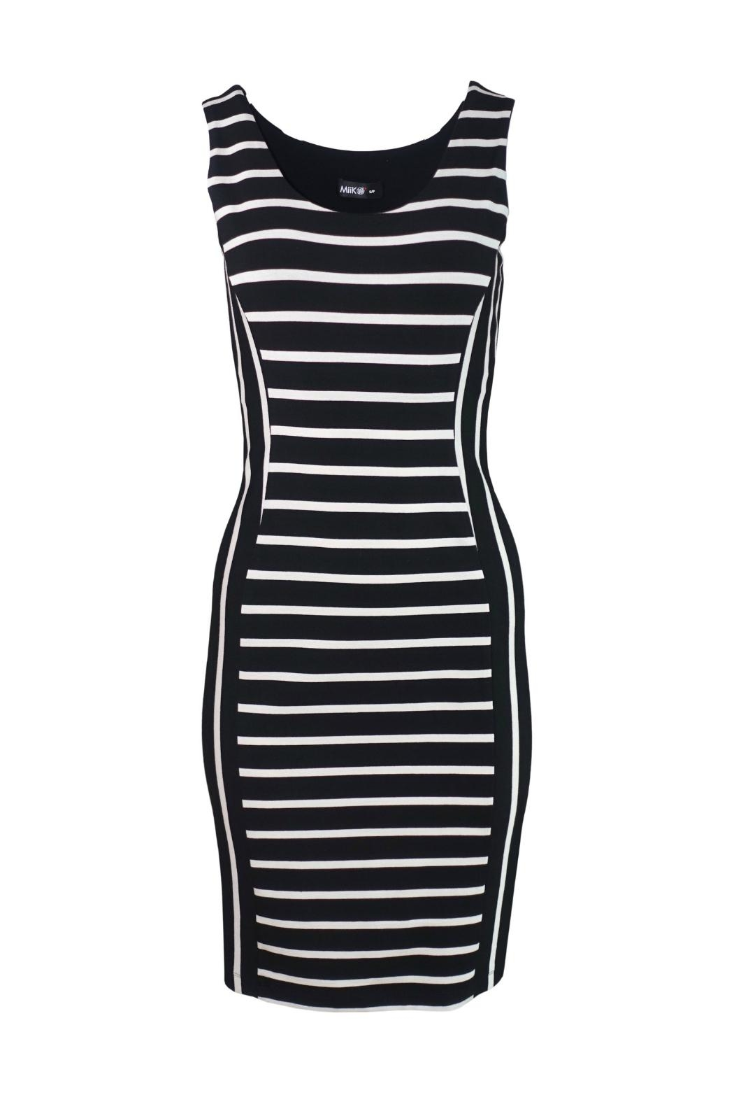 Miik Reversible Stripe Dress - Main Image