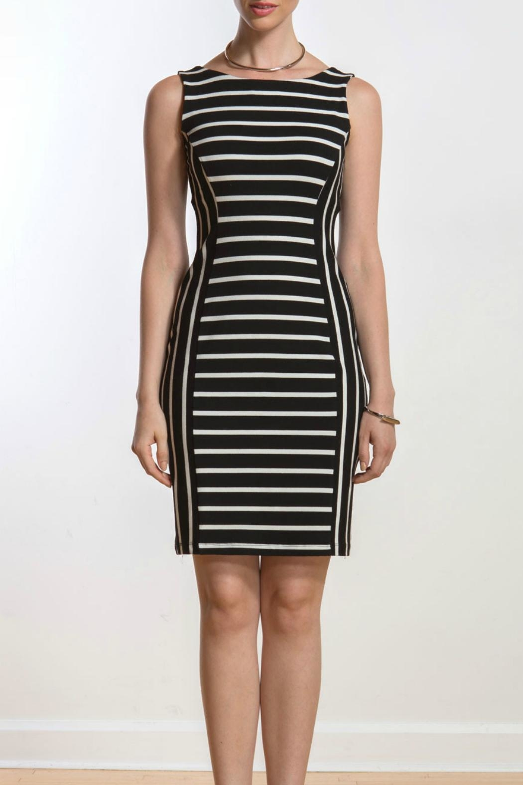 Miik Reversible Stripe Dress - Front Full Image