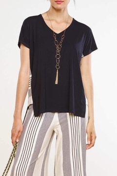 Shoptiques Product: Side Striped Top