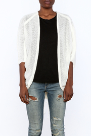 miila Off White Cardigan - Side cropped