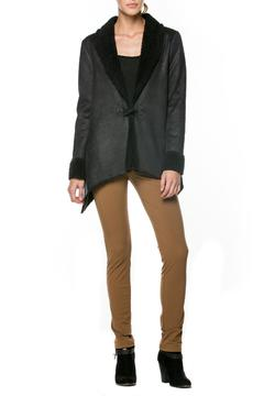 Shoptiques Product: Asymmetrical Suede Jacket