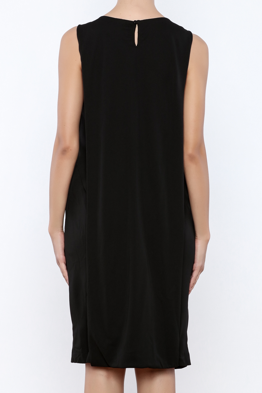 Miilla Back Button Dress - Back Cropped Image