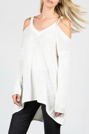 Miilla Cold Shoulder Sweater - Product Mini Image