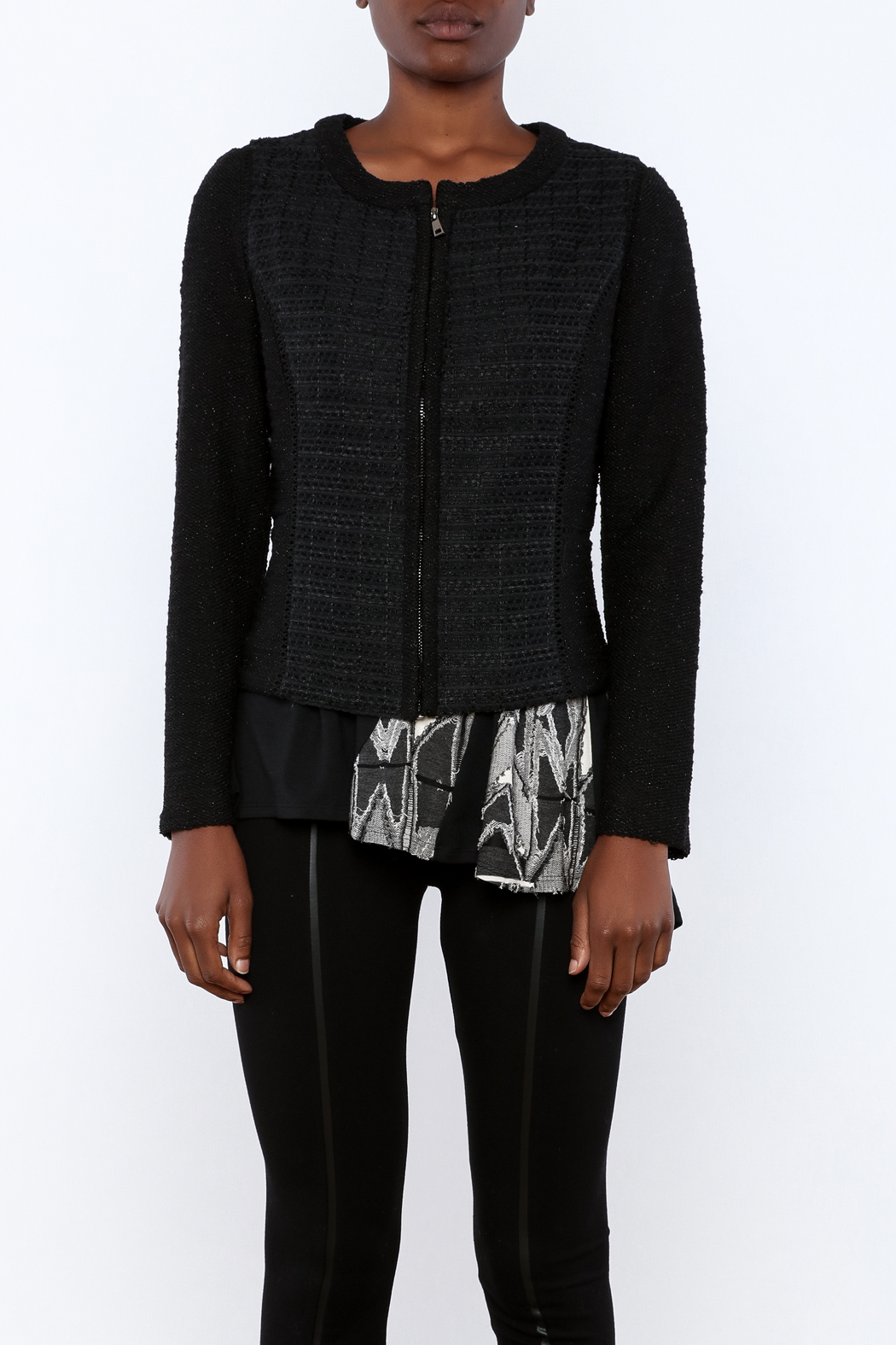 Miilla French Terry Jacket - Side Cropped Image