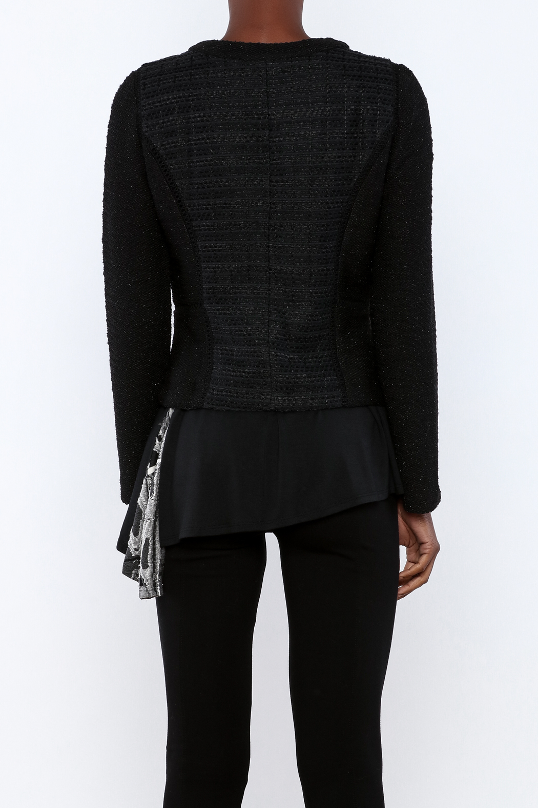 Miilla French Terry Jacket - Back Cropped Image