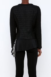 Miilla French Terry Jacket - Back cropped