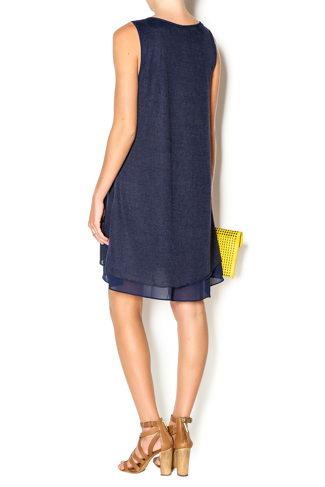 Miilla Navy Shift Dress from Chicago by Belle Noire Boutique ...