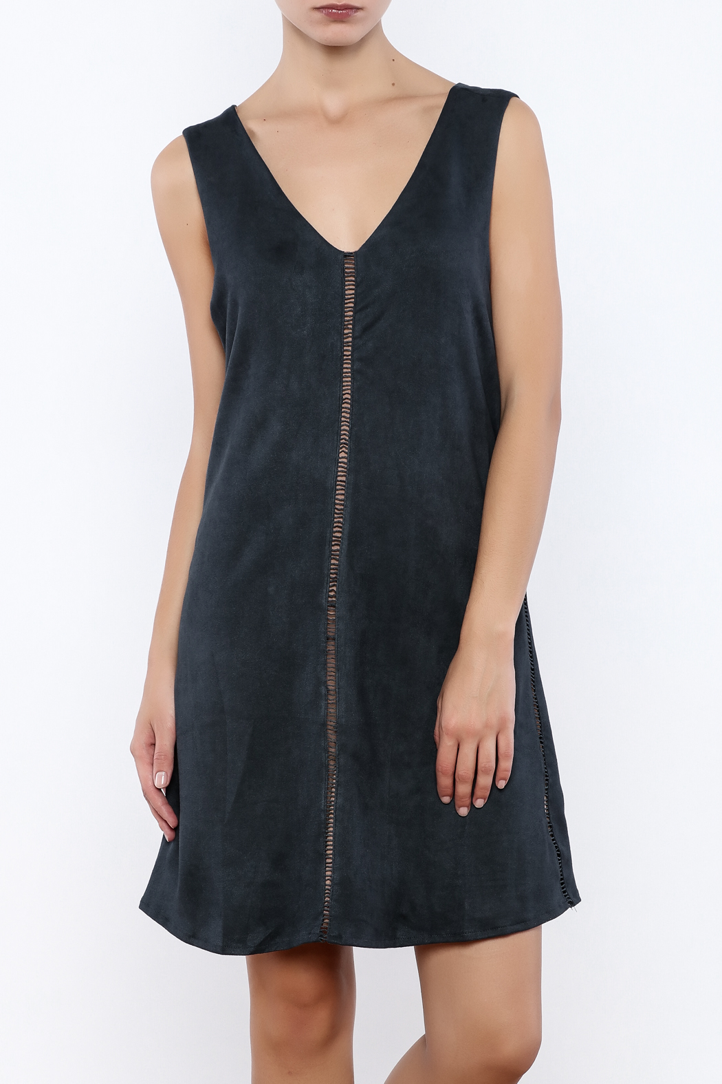 Miilla Sleeveless Faux Suede Dress - Main Image