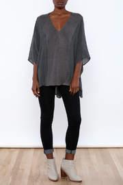 Miilla Grey Dolman Top - Front full body