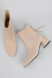 MiiM Kadee Square-Toe Bootie - Front full body