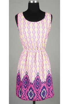 Miin Lace Back Detailed Tribal Dress - Product List Image