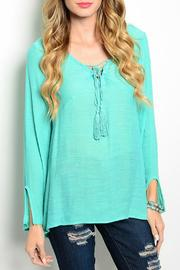 Miin Ocean Breeze Tunic - Product Mini Image