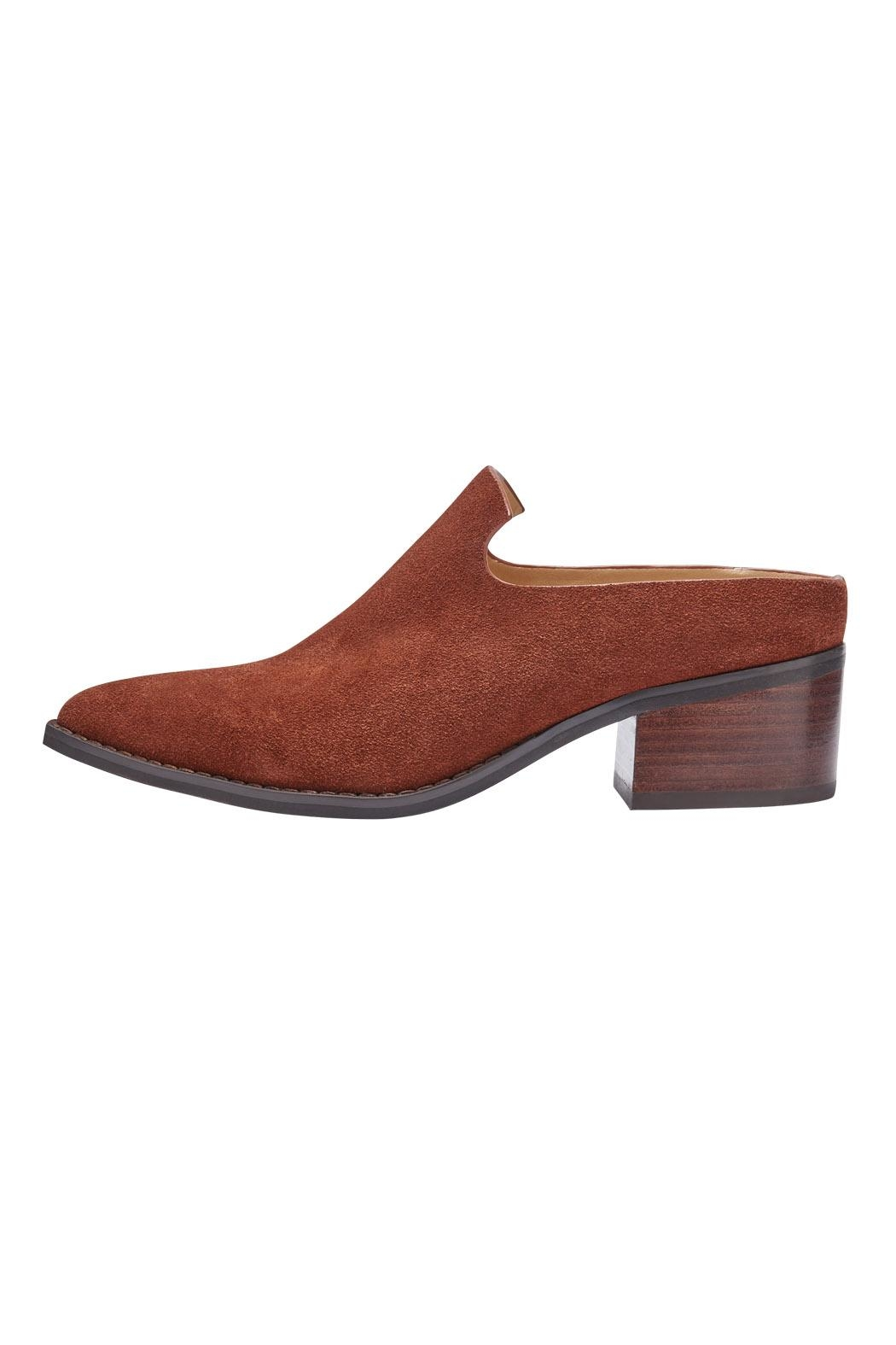 Miista Bettsie Suede Mules - Front Cropped Image