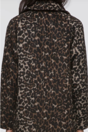 Greylin Mika Soft Leopard Coat - Side cropped