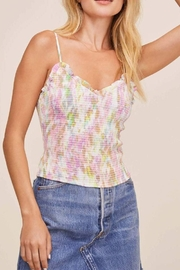 ASTR the Label Mika Tie Dye Top - Product Mini Image