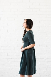 Mika Rose Emerald Dress - Side cropped