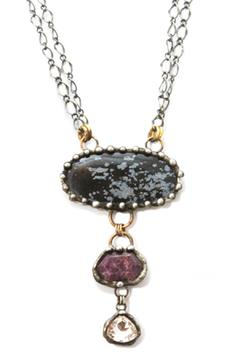 Shoptiques Product: Jasper Ruby Necklace
