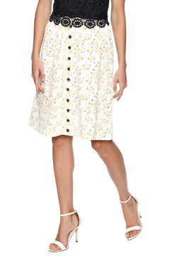 Mikarose Button Front Skirt - Product List Image