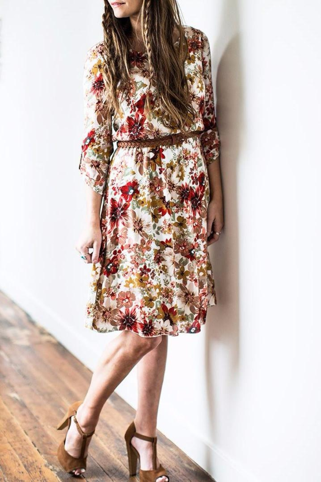 Mikarose Floral Dress - Main Image