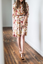 Mikarose Floral Dress - Front full body