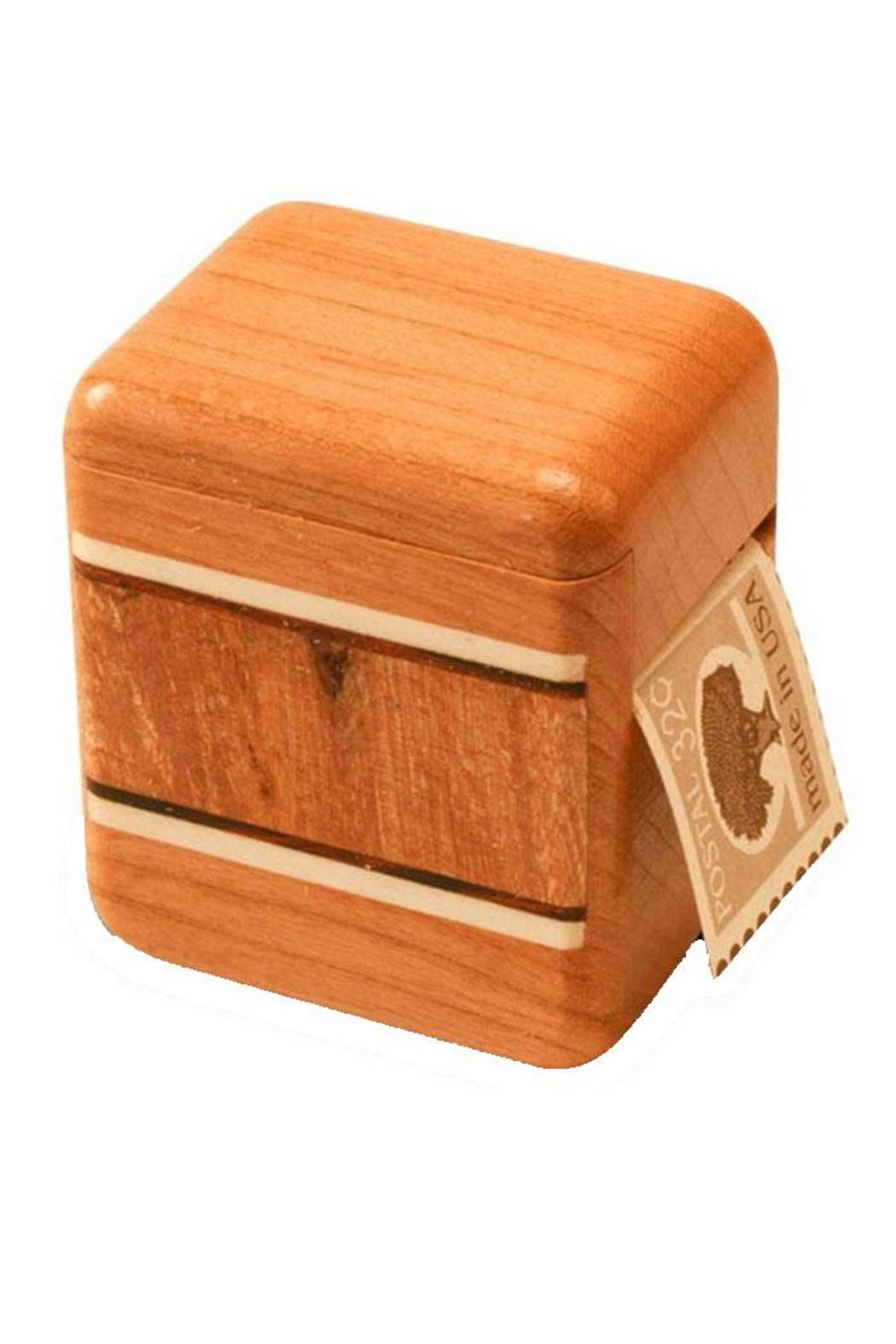 Mike Fisher Cherry Stamp Box - Main Image