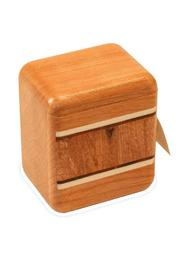 Mike Fisher Cherry Stamp Box - Front full body