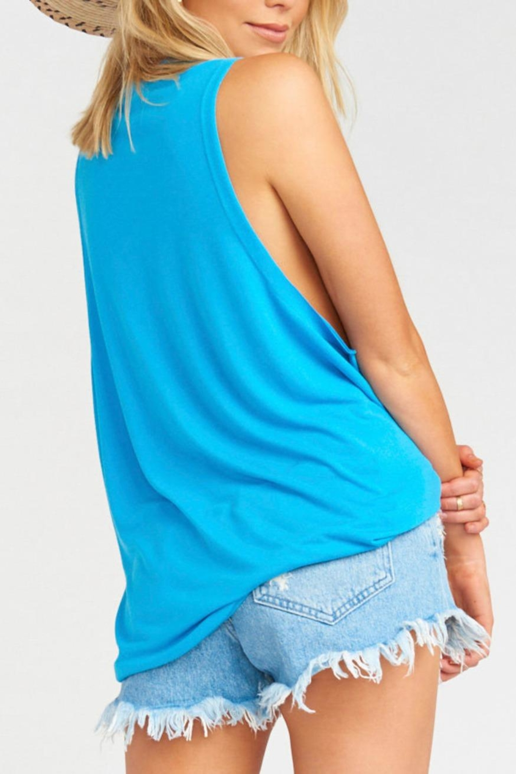 Show Me Your Mumu Mikey Muscle Tank - Side Cropped Image