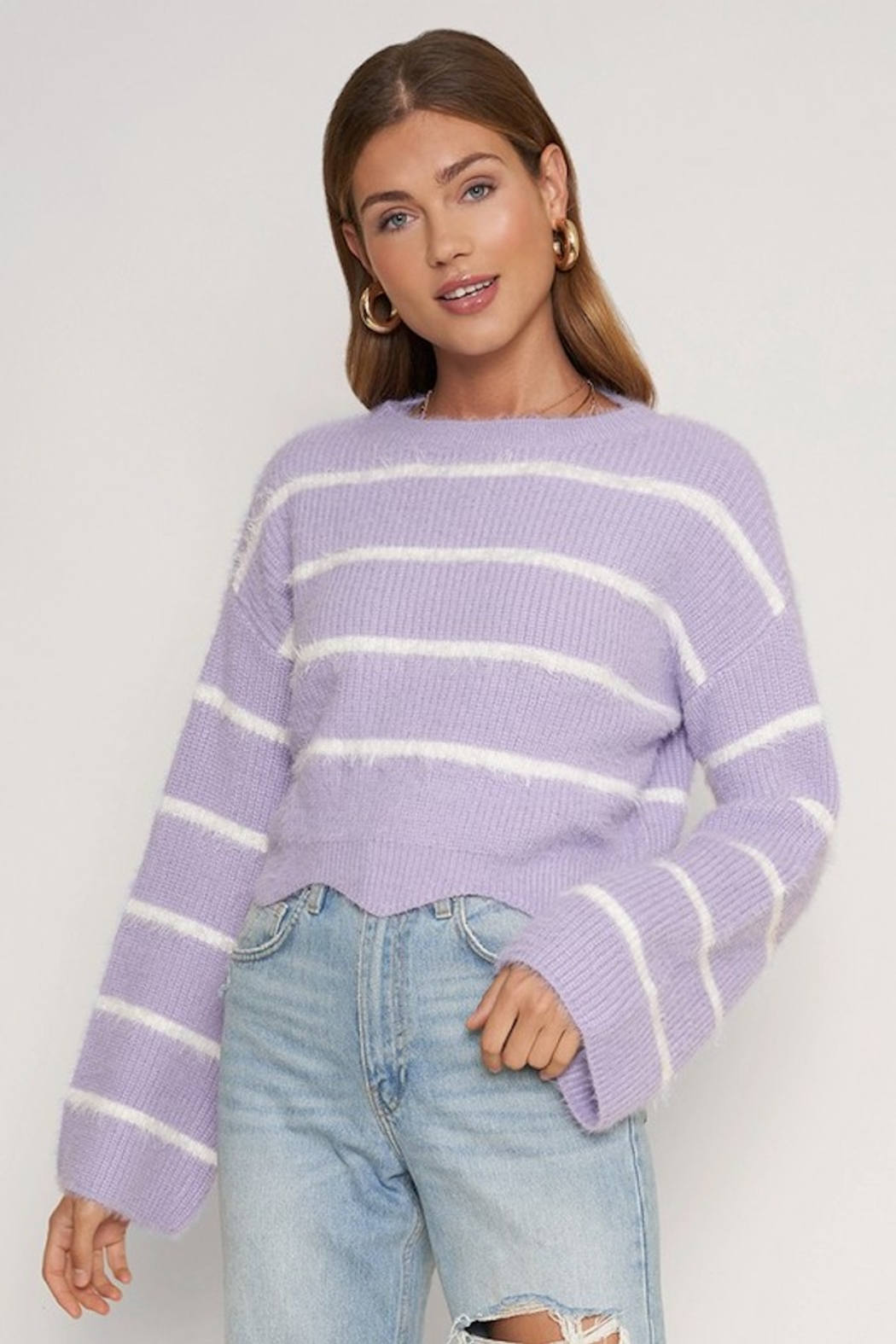 Dee Elly Mikinzie Bell Sleeve Sweater - Main Image