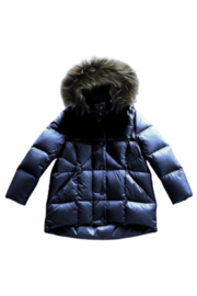 MIKKLOE Mikkloe Down Filled Hooded Water Repellent Puffer Jacket with Removable Fur Trim | Winterwear - Product Mini Image