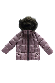 MIKKLOE Mikkloe Fur Trimmed Down Filled Hooded Jacket with Flap Pockets | Winterwear - Product Mini Image