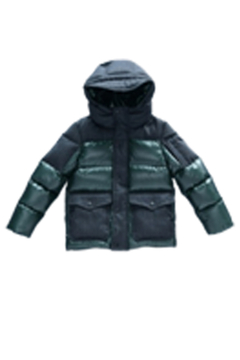 Shoptiques Product: Mikkloe Wind Repellent Down Puffer Hooded Jacket