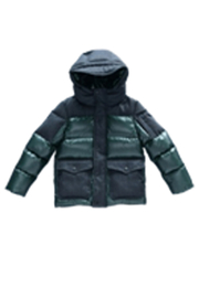 MIKKLOE Mikkloe Wind Repellent Down Puffer Hooded Jacket - Product Mini Image