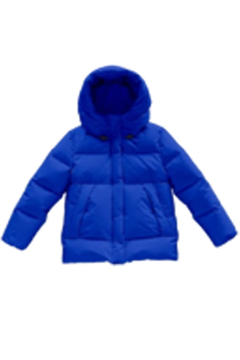 Shoptiques Product: Mikkloe Wind & Water Repellent Down Puffer Hooded Jacket