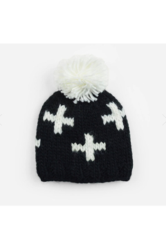 The Blueberry Hill Miko Swiss Cross Knit Hat - Alternate List Image