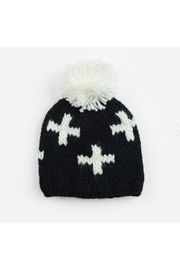 The Blueberry Hill Miko Swiss Cross Knit Hat - Product Mini Image