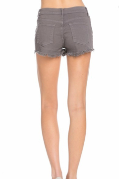 O2 Denim Mila Distressed Denim Shorts - Alternate List Image