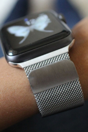 ShopTrendsNow Milanese Loop Mesh Metal Bands for Apple Watch - Product Mini Image