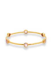 Julie Vos MILANO 6-STONE BANGLE-ROSE(MEDIUM) - Product Mini Image