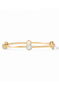 Julie Vos Milano Bangle-Seaglass Green - Product List Image