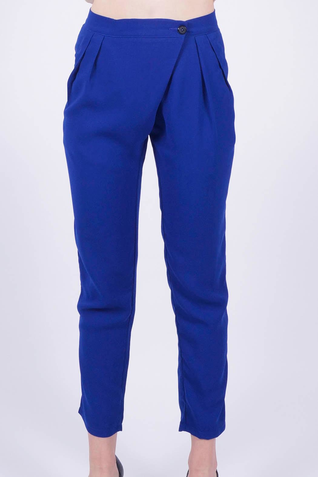 NU New York Milano Blue Pant - Front Full Image