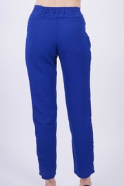 NU New York Milano Blue Pant - Back cropped