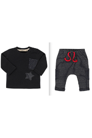 EMC Milano Star Jacquard Top & Pants Set - Product Mini Image