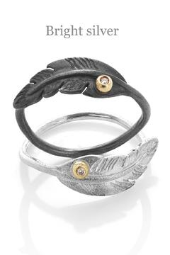 Shoptiques Product: Featherring With Diamond