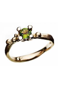 Shoptiques Product: Gold Ring With Tourmaline