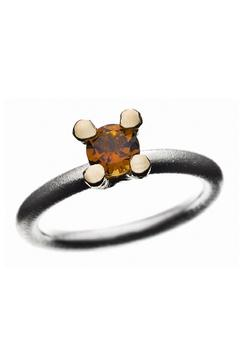 Shoptiques Product: Stacking Ring With Tourmaline