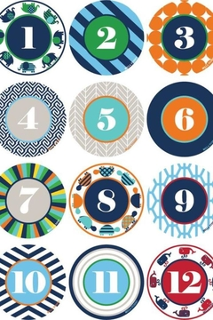Bella Tunno Milestone Sticker Set - Product List Image