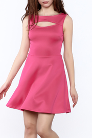 Miley and Molly Hot Pink Sleeveless Dress - Product Mini Image