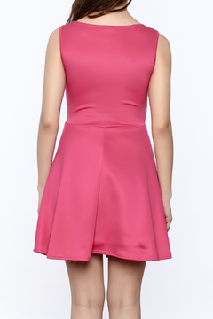 Miley and Molly Hot Pink Sleeveless Dress - Alternate List Image