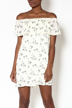 Miley and Molly Ivory Floral Dress - Product List Image